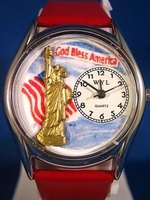 Personalized July 4th Patriotic Watches