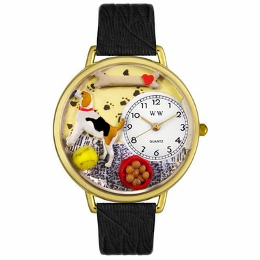 Personalized Beagle Unisex Watch
