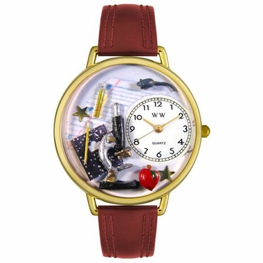Personalized Science Teacher Unisex Watch