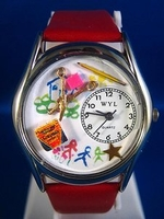 Personalized Preschool Teacher Watches