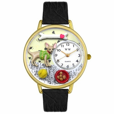 Personalized Chihuahua Unisex Watch