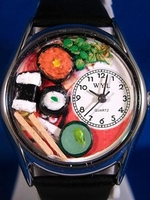 Personalized Sushi Watches