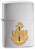 Navy Anchor Emblem Zippo Lighter
