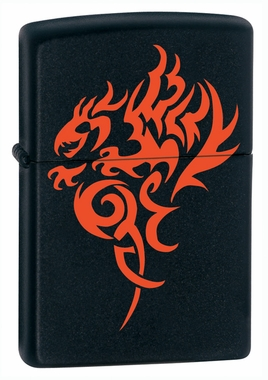 Hidden Dragon Zippo Lighter