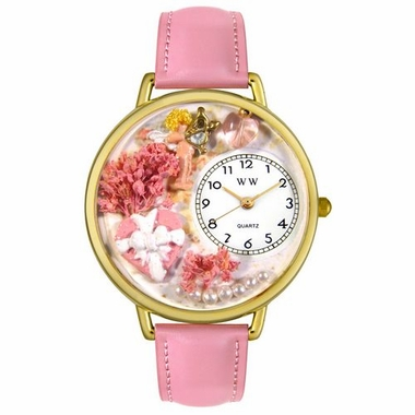 Personalized Valentine's Day Pink Watch