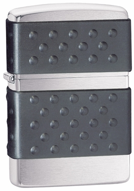 Black Zip Guard Zippo Lighter