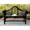 Achla Designs 4 ft. Lutyens Wood Bench OFB-11