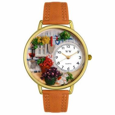 Personalized Gardening Unisex Watch