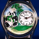 Personalized Panda Bear Watches
