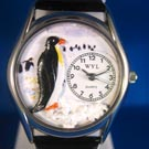 Personalized Penguin Watches