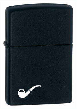 Zippo Pipe Lighter - Black Matte