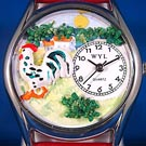 Personalized Rooster Watches