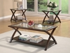 3PC Set Coffee & 2 End Tables # 701527