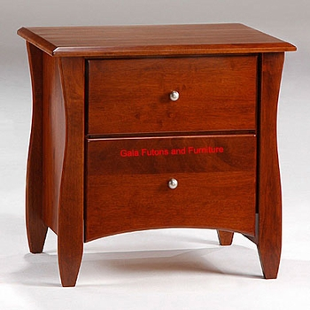 Spice 2 Drawer Nightstand