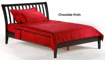 full Sleigh H Platform bed