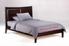 Panel H Platform Bed with storage drawer option