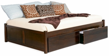 Fairfax Queen size platform bed with storage
