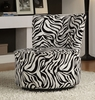 Accent  Zebra lounge chair Furniture Living Room