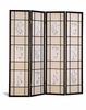 Screen 4 panel  Room Divider 4407