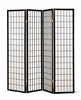 Screen 4 panel black room divider Furniture
