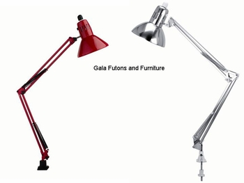 CLAMP ON SWING ARM LAMP
