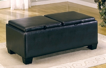 Modern Storage Cocktail Ottoman
