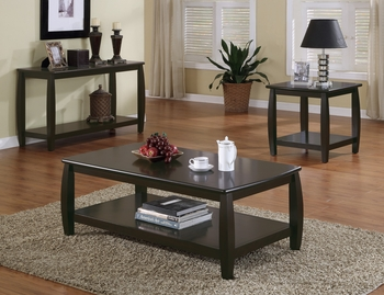 Marina Coffee Table with 1 Shelf