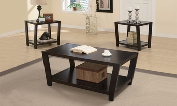 3 PC Set coffee & 2 end tables
