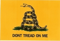Gadsden Flag Vinyl Stickers