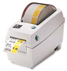 "(Click to Enlarge) LP2824 - Zebra 2"" Direct Thermal Barcode Printer  USB/Serial"