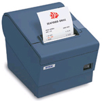 (Click to Enlarge) T88IV - Epson Fast Thermal Receipt Printer - Black USB