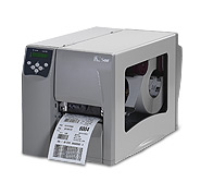 "(Click to Enlarge) Zebra S4M Barcode Printer 4"", DT/TT, 203DPI, With ZPL, SER/USB/PAR, 4MB FLASH"