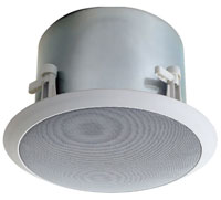 (Click to Enlarge) BOGEN [hfcs1lp] - >> LO PROFILE CEILING SPEAKER 6-CONE75W - 70V - 16 (ITEM ALSO KNOWN AS : BOG-HFCS1LP) [hfcs1lp]