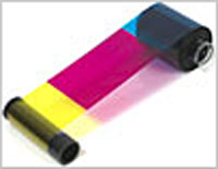 (Click to Enlarge) ZEBRACARD [800014-980] - ZEBRACARD - CONSUMABLES - YMCKK TRUE COLOURS C SERIES 5 PANEL COLOR RIBBON - P620 COMPATIBLE - 500 IMAGES PER ROLL - PRICED PER ROLL (.) [800014-980]