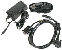 (Click to Enlarge) HONEYWELL SCANNING [9500-rs232-1e] - HONEYWELL -- ACCESSORY - DOLPHIN 9500 - 9900 SERIES RS - 232 CHARGING AND COMMUNICATIONS CABLE - POWER SUPPLY AND CORD (US KIT) [9500-rs232-1e]
