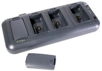 (Click to Enlarge) HONEYWELL SCANNING - MOBILITY [hhp-9500qc1e] - >>> DOLPHIN 9500-9550 4-SLOT BATTERY CHARGING STATION-US CORD - PWR (ITEM ALSO KNOWN AS : 9500-QC-1E) [hhp-9500qc1e]