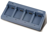 (Click to Enlarge) UNITECH [5100-602218g] - UNITECH - ACCESSORY - 4 SLOT BATTERY CHARGER CRADLE - AC POWER SUPPLY - FOR HT660 - PA600 BATTERIES (.) [5100-602218g]