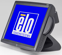 (Click to Enlarge) ELO [et1529l-7uwa-1-gy-m3] - ELO 1529L 15 Inch LCD ACCUTOUCH USB KYB EMUL MSR SHORT STAND [d30809-000 [et1529l-7uwa-1-gy-m3]