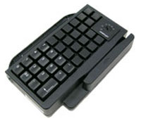 (Click to Enlarge) POSIFLEX [kp300e007] - POSIFLEX - ACCESSORY - KEYBOARD ATTACHMENT - 36 PROGRAMMABLE - BLACK HIGH-GLOSS - MSR OPTIONAL - FOR KS6315 [kp300e007]