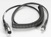 (Click to Enlarge) ZEBRA [25-71918-01r] - >>> CONNECTS LS34XX TO VC5090 - COILED 9- EXTENDED. (ITEM ALSO KNOWN AS : SYM-257191801R) [25-71918-01r]