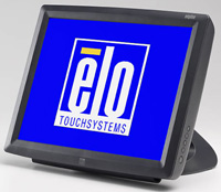 (Click to Enlarge) ELO TOUCHSYSTEMS [E016941] - ELO - 1529L - 15 - LCD - INTELLITOUCH - USB INTERFACE - DARK GRAY - MSR - HID - REAR CUSTOMER DISPLAY - DESKTOP [E016941]