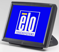 (Click to Enlarge) ELO TOUCH SOLUTIONS [elo-e700641] - >> 1529L W/APR - GRAY - USB - ROHS 15- DESKTOP LCD (ITEM ALSO KNOWN AS : E700641) [elo-e700641]