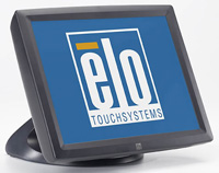 (Click to Enlarge) ELO TOUCHSYSTEMS [E796533] - ELO - 1522L - 15 - LCD - SURFACE CAP USB - DARK GRAY - SHORT STAND - DESKTOP - NC - NR [E796533]