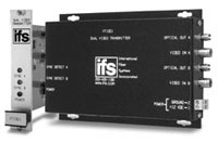 (Click to Enlarge) UTC FIRE - SECURITY [vt1001] - >> DUAL VIDEO TRANSCEIVER - MULTIMODE (ITEM ALSO KNOWN AS : IFS-VT1001) [vt1001]