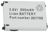 (Click to Enlarge) UNITECH [1400-202501g] - UNITECH - ACCESSORY - BATTERY - RECHARGEABLE LI-ION 3.7 V 900 MAH - FOR HT630 [1400-202501g]