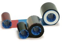 (Click to Enlarge) ZEBRACARD [800015-440] - ZEBRACARD - CONSUMABLES - YMCKO TRUE COLOURS I SERIES COLOR 5 PANEL RIBBON - WITH 1 CLEANING ROLLER - P3XX - P4XX - P5XX COMPATIBLE - 200 IMAGES PER ROLL - PRICED PER ROLL [800015-440]