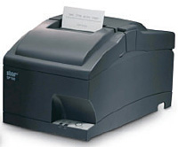 (Click to Enlarge) STAR MICRONICS [37999220] - STAR MICRONICS - SP712MD GRY US R - IMPACT - FRICTION - PRINTER - TEAR BAR - SERIAL - GRAY - POWER SUPPLY INCLUDED - REWINDER - JOURNAL [37999220]