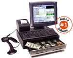(Click to Enlarge) Complete Tanning Salon POS Point Of Sale Computer Touch System