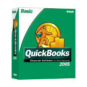 (Click to Enlarge) QuickBooks Basic 2005 - Full Version - Retail Box
