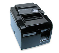 (Click to Enlarge) STAR MICRONICS [39463510] - STAR MICRONICS - TSP143UGT BLACK US - THERMAL - PRINTER - CUTTER - USB - PIANO BLACK - POWER SUPPLY AND CABLE INCLUDED - NON - CANCELLABLE - NON - RETURNABLE [39463510]